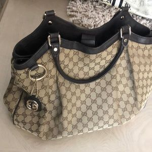 Beautiful used large  Gucci bag